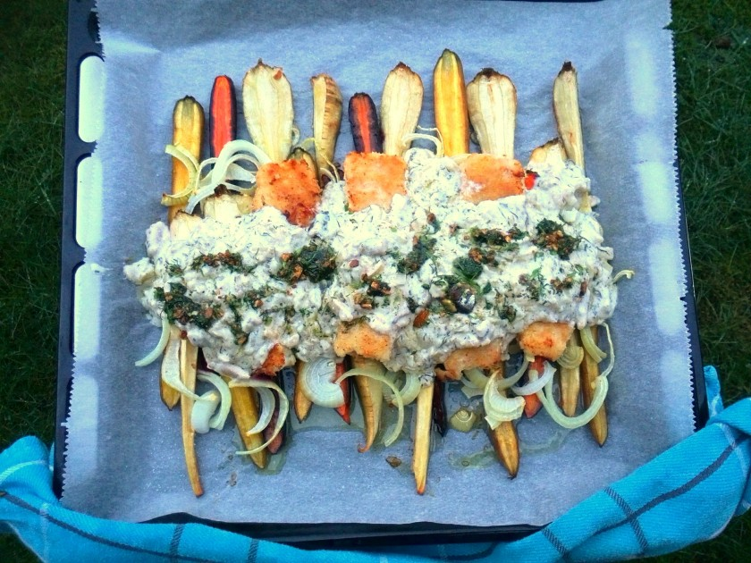 codfish-out oven