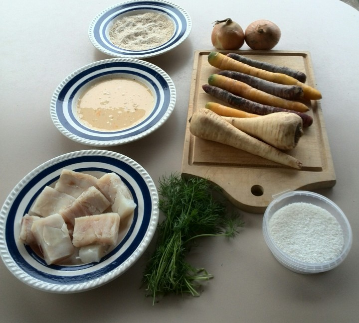 codfish-vegetables