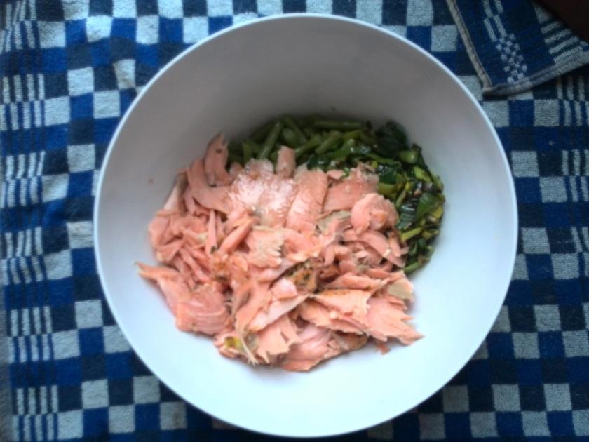 zalm-groenten-melk