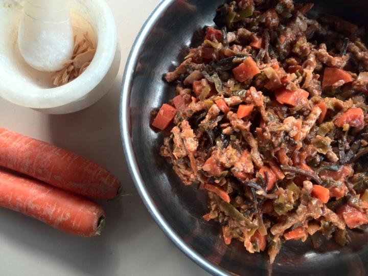 sweet-potatoes in pan