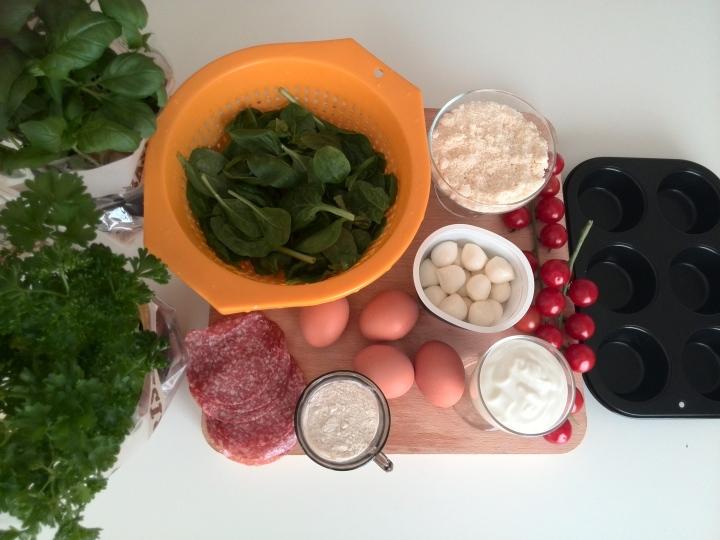 muffins-espinazie-ingredineten