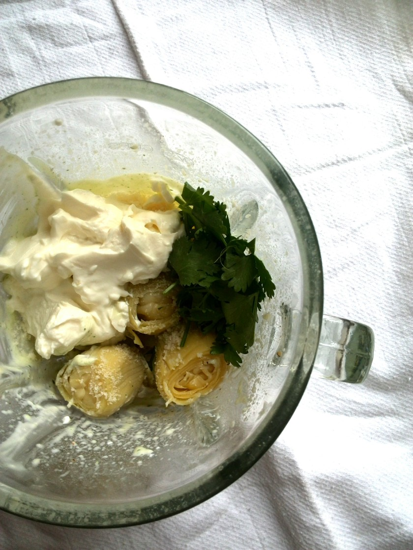 artichoke-blender
