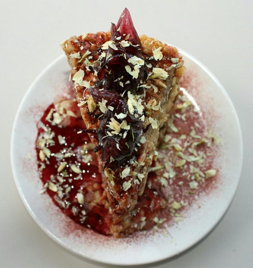 oats-taartbodem-banaan-hibiscus