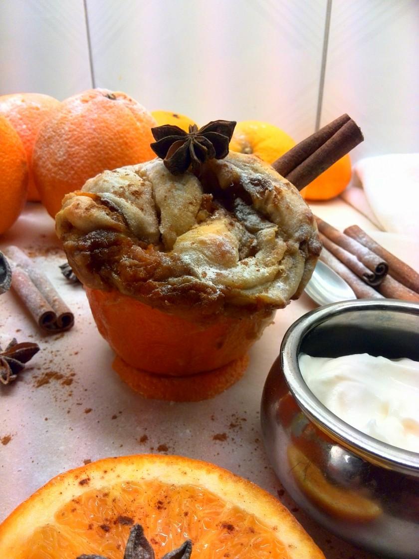 pumpkin cinnamon bread twist