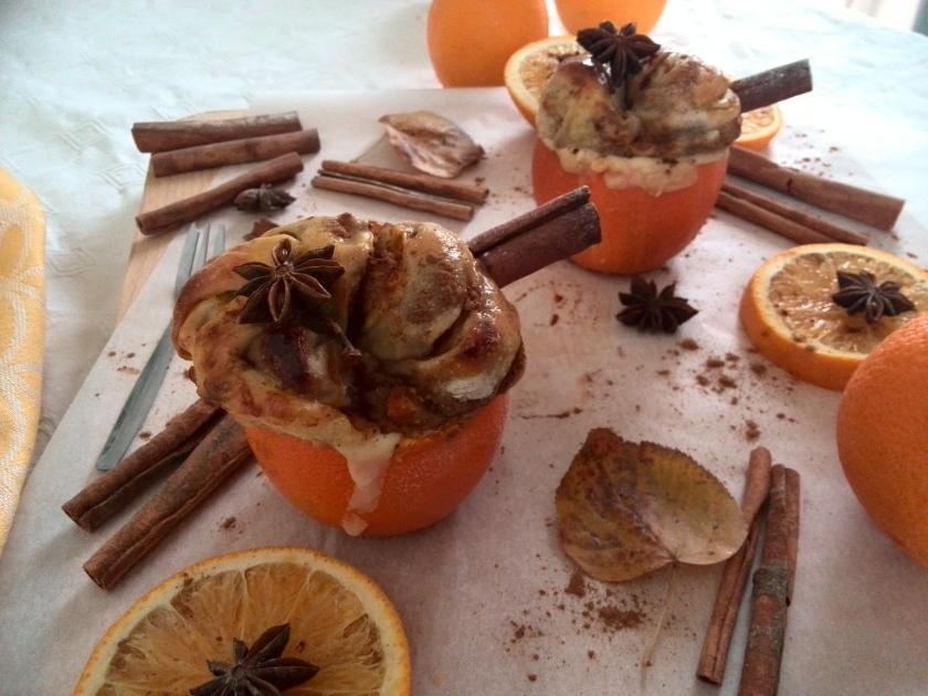 pumpkin cinnamon-bread twist