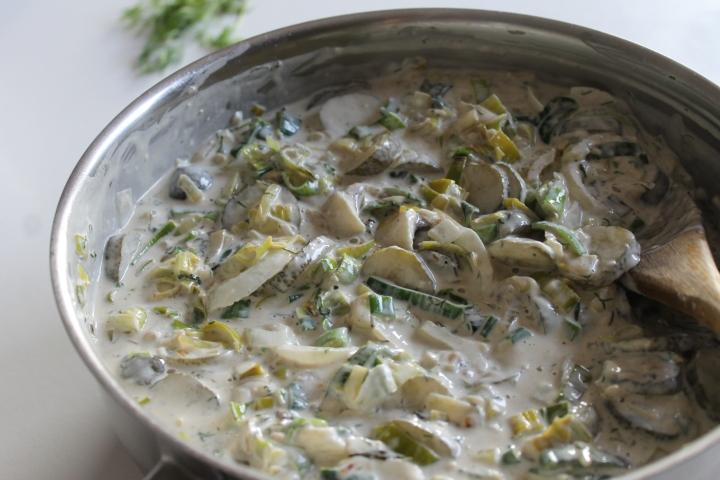 creamy haring saus