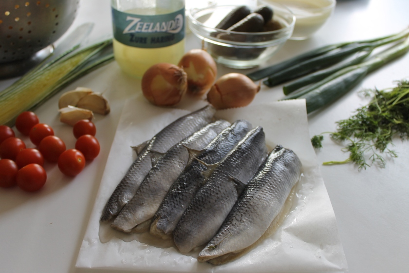 creamy herring-ingredients