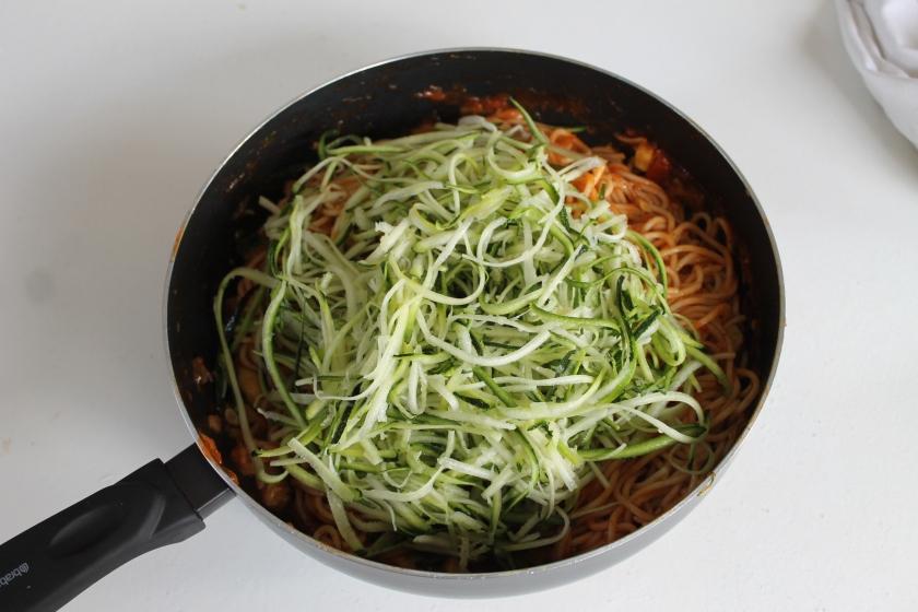 vegetarian pasta-noodels